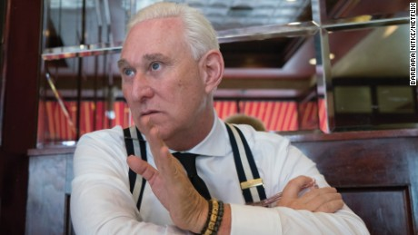 "Roger Stone in ""Get Me Roger Stone."""