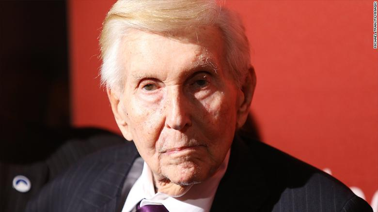 Sumner Redstone in 101 seconds