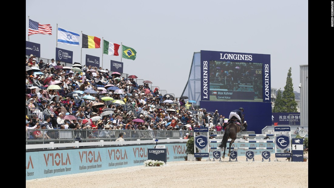 Blue skies and an expectant crowd in Shanghai made a perfect setting for the LGCT and GCL -- the world's premier individual and team showjumping competitions.