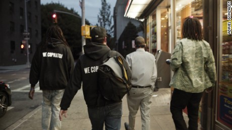 "The members of ""We Copwatch"" in the film ""Copwatch."""