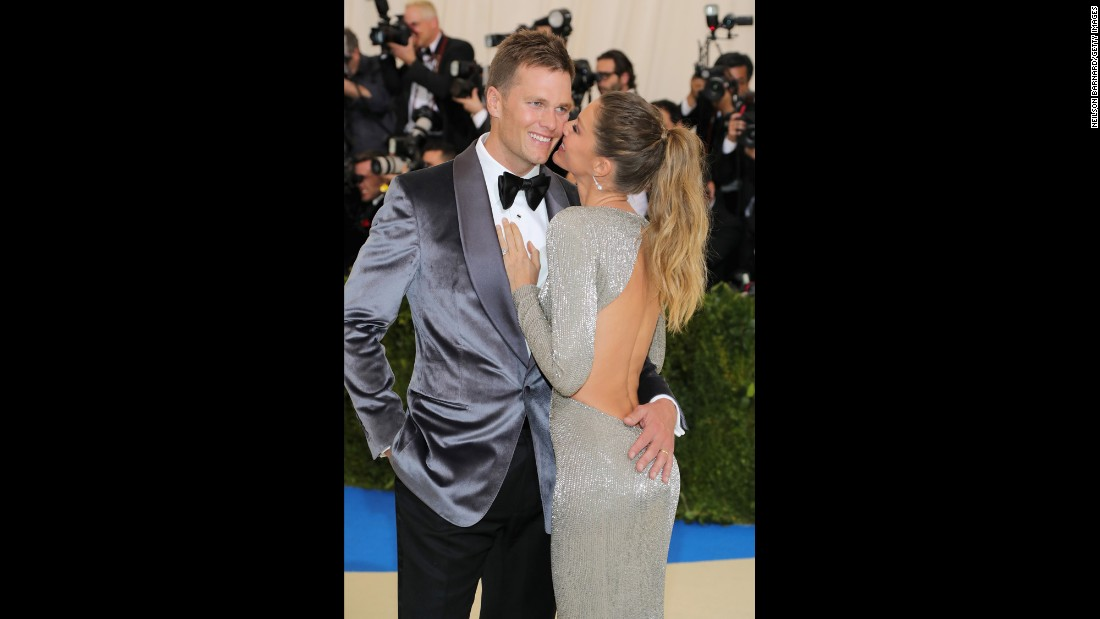 Co-chairs Tom Brady and Gisele Bundchen. The Metropolitan Museum of Art opened its doors for the Met Gala, the annual invitation-only fundraiser to benefit the museum's Costume Institute.