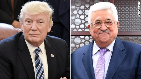 Palestinian adviser: Abbas hopeful about Trump meeting