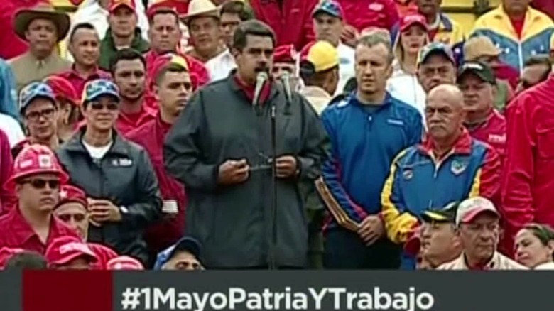 Embattled Venezuelan president calls for new constitution