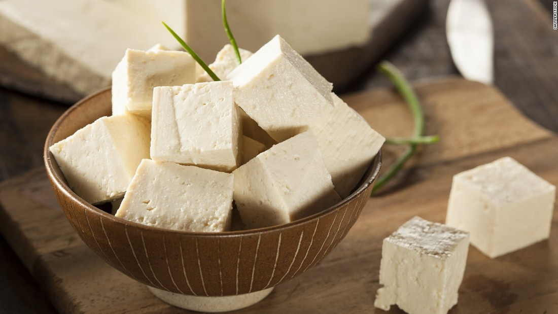 Organic tofu is the base for many vegan and vegetarian meals.