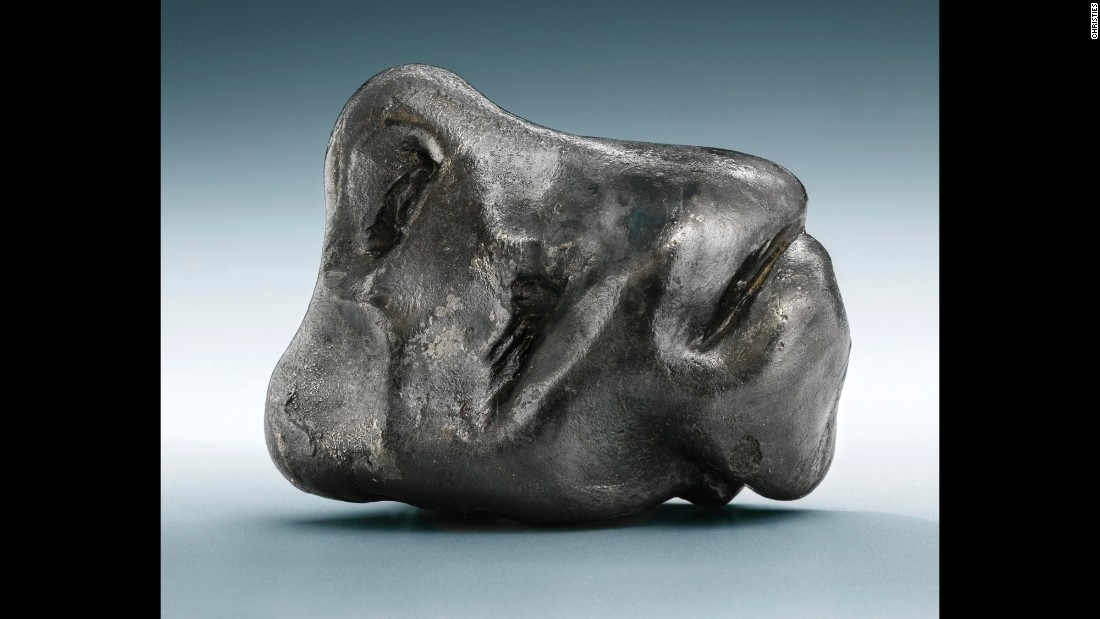 A Sikhote-Alin meteorite, iron, coarsest octahedrite. (Maritime Territory, Siberia, Russia). Estimated at $2,000 - $4,000