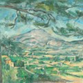 Montagne Sainte-Victoire with Large Pine - Paul Cézanne