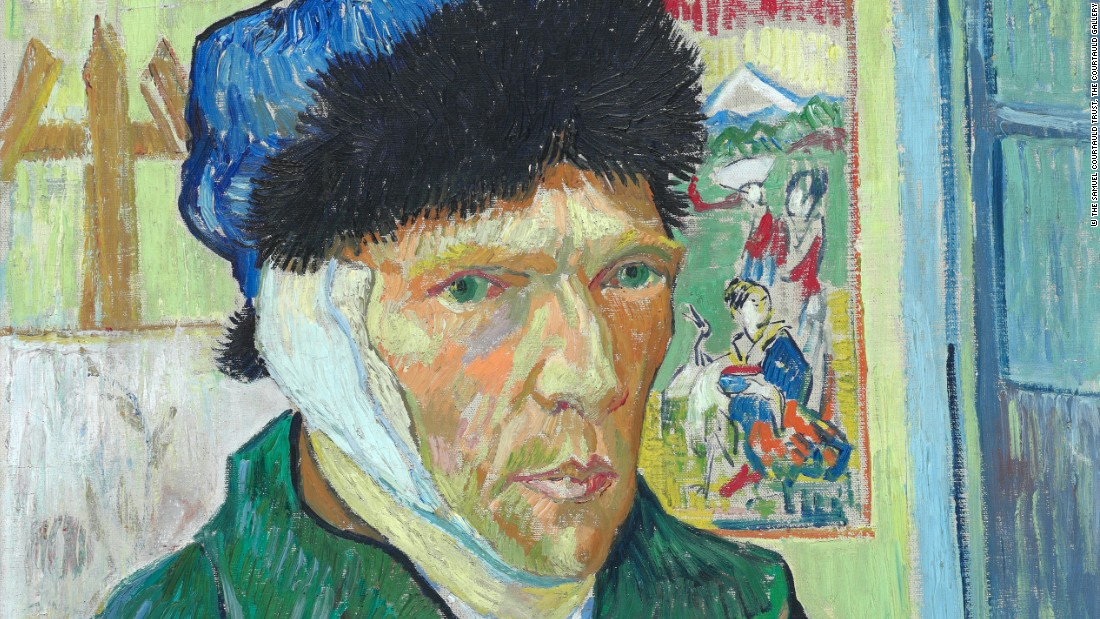 The Courtauld Gallery's collection includes impressionistic and post-impressionistic masterpieces, as well as works from the Middle Ages and Renaissance.<br />Shown here: Self-Portrait with Bandaged Ear, by Vincent Van Gogh. Courtesy The Samuel Courtauld Trust.