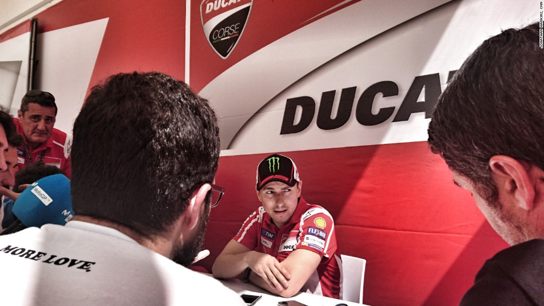Jorge Lorenzo has struggled to adapt to his Ducati, but showed some signs of progress in Austin.