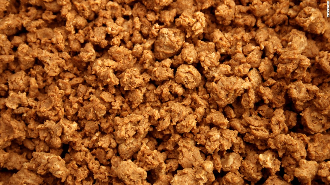 Quorn is a meat alternative derived from fungus, mixed with an egg- or potato-based binder.