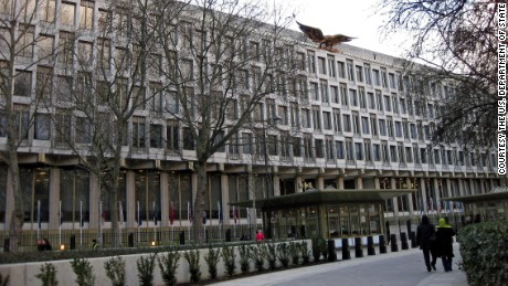 The current U.S. embassy in London