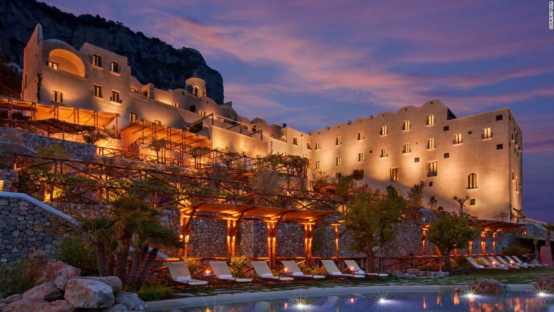<strong>Monastero Santa Rosa:</strong> At Italy's Monastero Santa Rosa Hotel and Spa, tiered gardens grow the same therapeutic herbs used by Dominican nuns who once lived there.