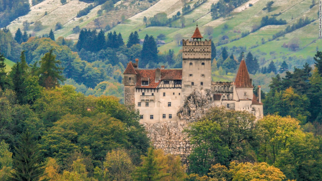 <strong>Bran Castle: </strong>Bran Castle, the fictional home of Count Dracula, is found outside Bucharest.