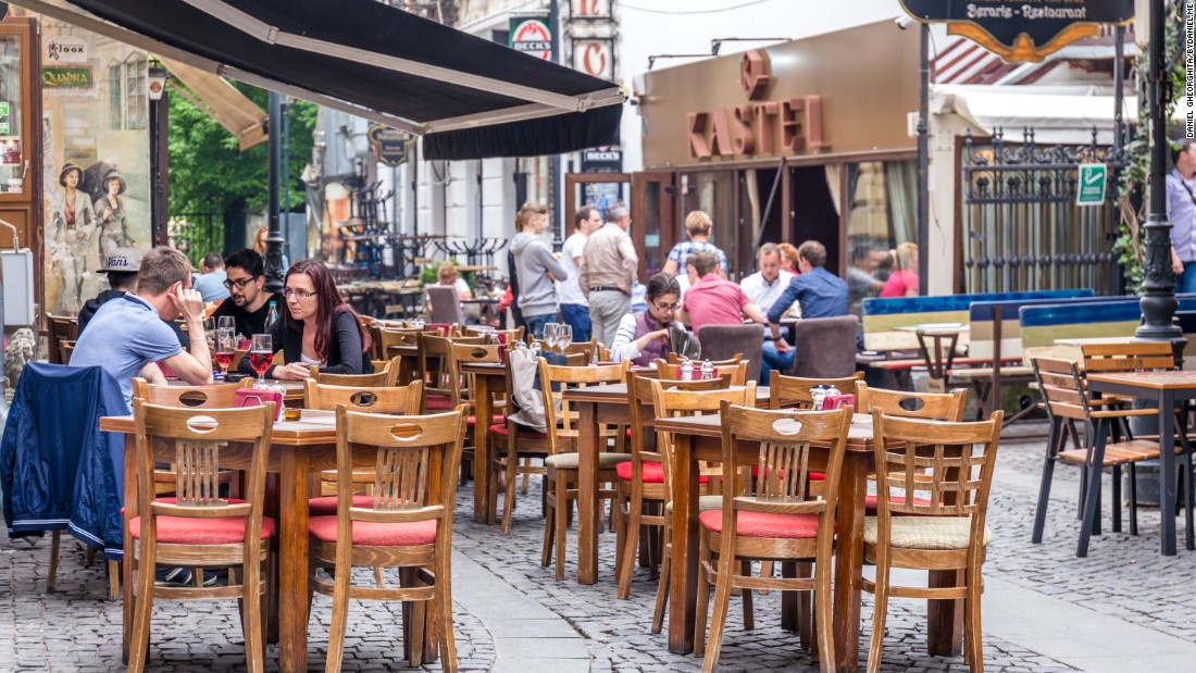 <strong>Bucharest Old Town: </strong>The Old Town was once a slum but is being reinvigorated and is a lively spot for nightlife and dining.