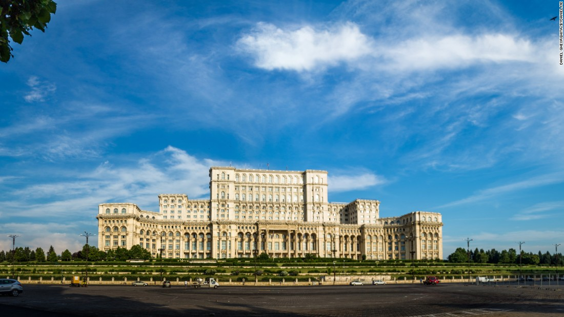 <strong>Bucharest Parliament:</strong> The Palace of the Parliament is an architectural heavyweight with many plaudits, including the heaviest building in the world, the largest building in Europe and the world's second-largest administrative building (after the Pentagon).