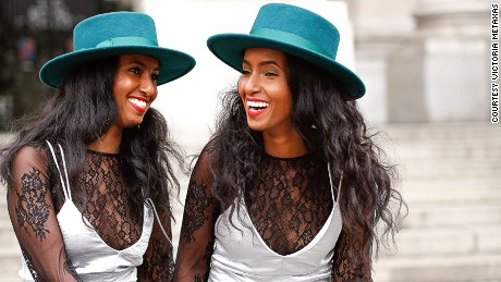Like most twins, Hermon, left, and Heroda Berhane share a strong bond.