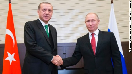 Putin: Russia, Turkey support Syria 'de-escalation zones'