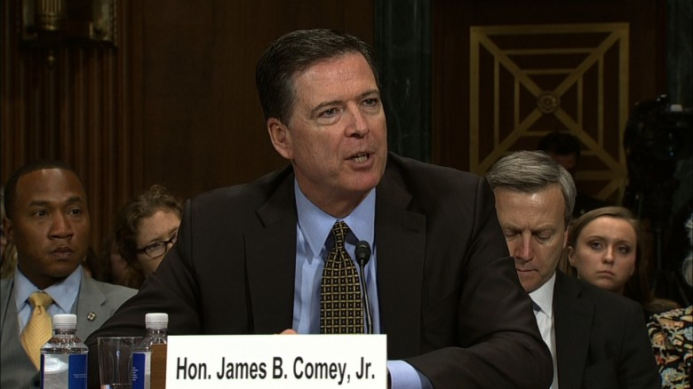 Comey: No regrets about Clinton email probe