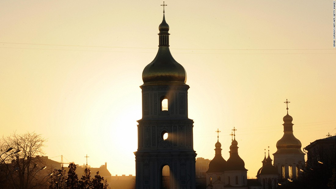 <strong>Kiev: </strong>Golden domed churches, a long and rich history, eclectic architecture and nonstop city life are among the attractions in the Ukraine capital.
