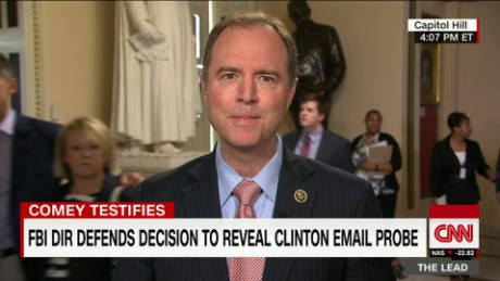 congressman adam schiff the lead jake tapper interview comey testifies_00015703