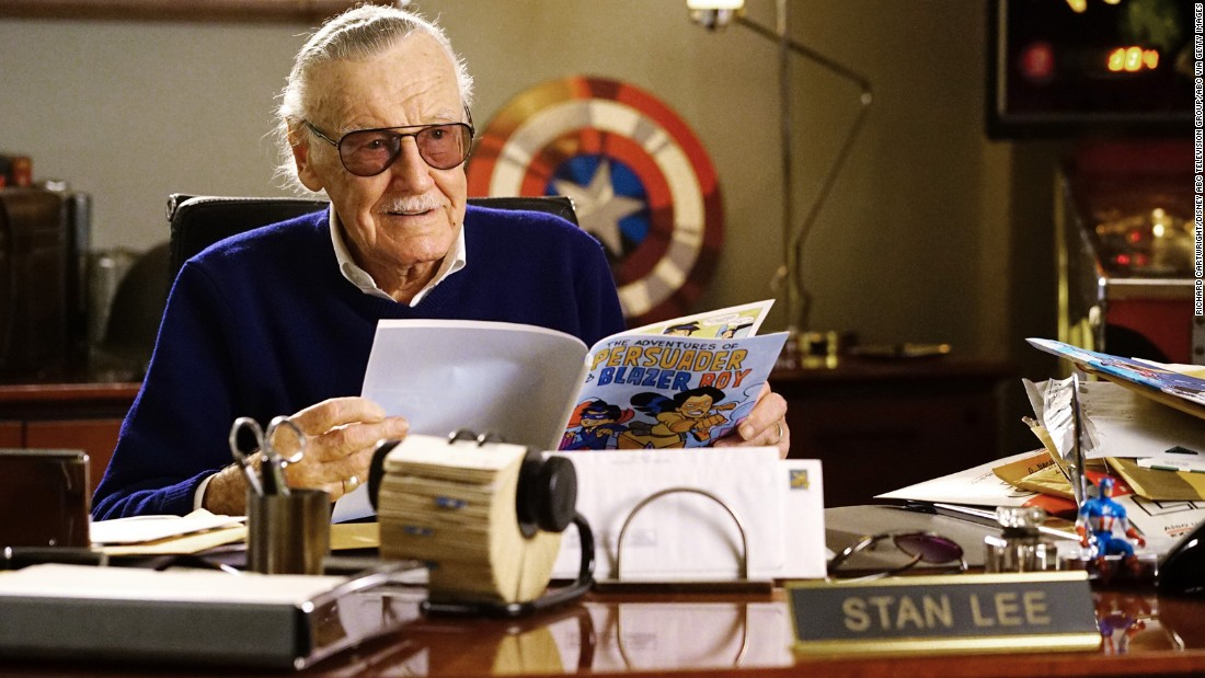 "<strong>Stan Lee, born 1922: </strong>American comic book author Lee championed close collaboration between comic book writers and artists. The collaborative approach was known as the ""Marvel Method."" In 2011, he was given a star on the Hollywood Walk of Fame."