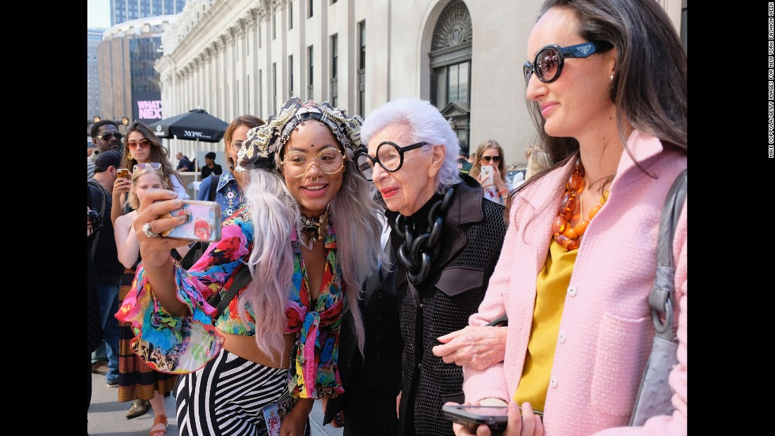 <strong>Iris Apfel, born 1921:</strong> Famed fashion designer Apfel reached the peak of her fame over a decade after her retirement. She's known for her iconic look -- specifically her oversize round sunglasses. As a young designer, Apfel worked on restoration and design projects in the White House for nine presidents. Now, Apfel continues her work with clothing lines, museum exhibits and consulting jobs around the world.