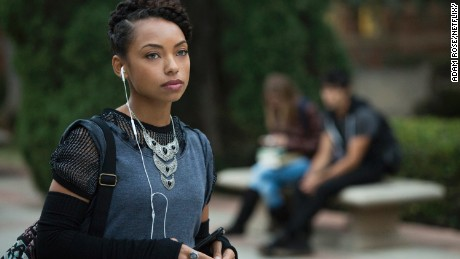 Logan Browning as Sam in Netflix's 'Dear White People.'