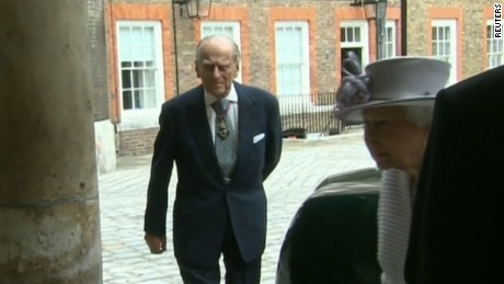Prince Philip arrives at St James's Palace