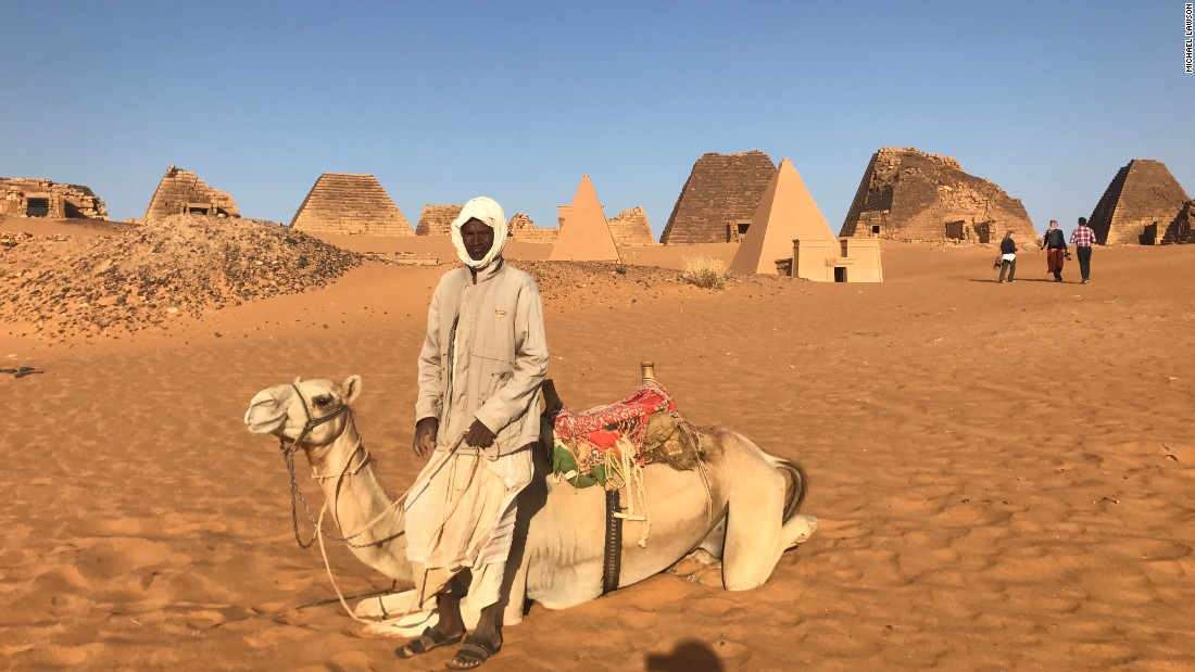 Local tour guides are available to take visitors to the sites, but due to the lack of a tourism industry in Sudan they often do not know much of the local history.