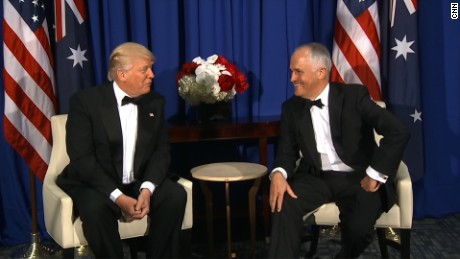 Trump praises Australia's universal health care after Obamacare repeal