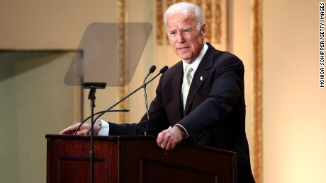 47th Vice President of the United States Joe Biden speaks on stage at the HELP USA 30th Anniversary Event at The Plaza Hotel on March 16, 2017 in New York City.