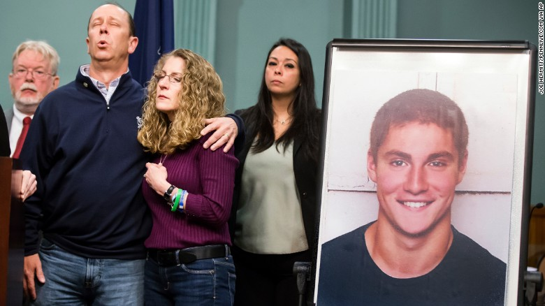 18 fraternity members charged in hazing death