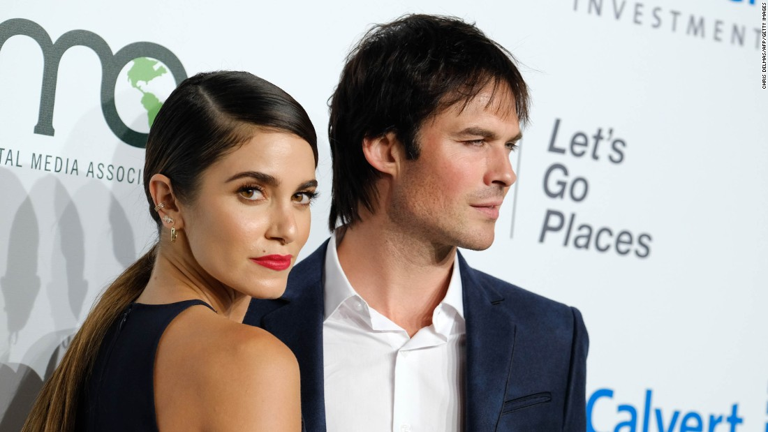 Nikki Reed and Ian Somerhalder welcomed  daughter Bodhi Soleil Reed Somerhalder on July 25. The couple married in April 2015.