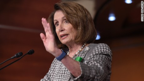 House Minority Leader Nancy Pelosi of Calif. speaks during a news conference on Capitol Hill in Washington, Thursday, May 4, 2017. (AP Photo/Susan Walsh)