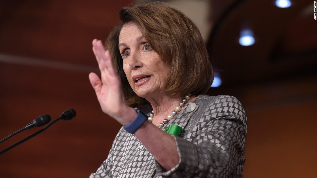 "House Minority Leader Nancy Pelosi <a href=""http://www.cnn.com/2017/05/04/politics/nancy-pelosi-gop-health-care-bill/"" target=""_blank"">called out Republicans</a> who planned on voting for the new health care bill. ""Do you believe in what is in this bill?"" she said just before the vote on Thursday, May 4. ""Some of you have said ... 'Well, they'll fix it in the Senate.' But you have every provision of this bill tattooed on your forehead. You will glow in the dark on this one."""