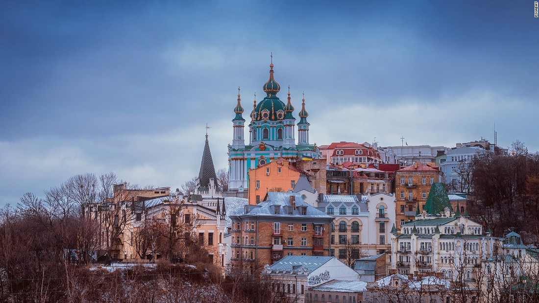 <strong>Kiev: </strong>Ukraine's capital<strong> </strong>Kiev is bisected by the Dnieper River and is one of the most prominent cities in eastern Europe.