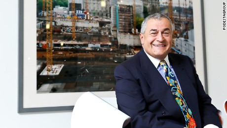 Lobbyist Tony Podesta is the brother of John Podesta, a longtime Hillary Clinton adviser