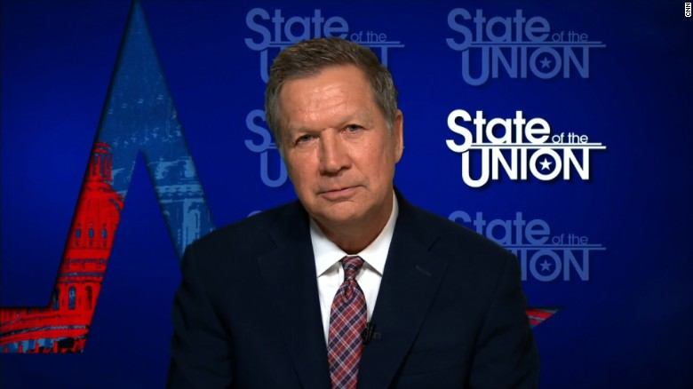 Gov. John Kasich slams GOP health bill