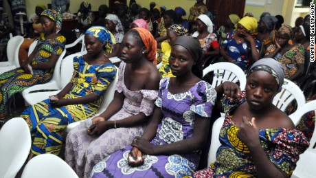 Chibok girls released in exchange for Boko Haram suspects