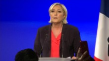 marine le pen calls emmanuel macron french election sot _00005714.jpg