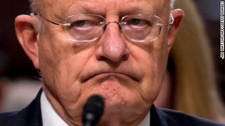 Director of National Intelligence James Clapper testifies before the Senate Armed Services Committee on Capitol Hill in Washington, DC, January 5, 2017.