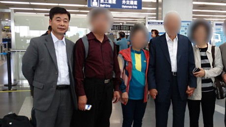 Detained man's wife pleads to North Korea
