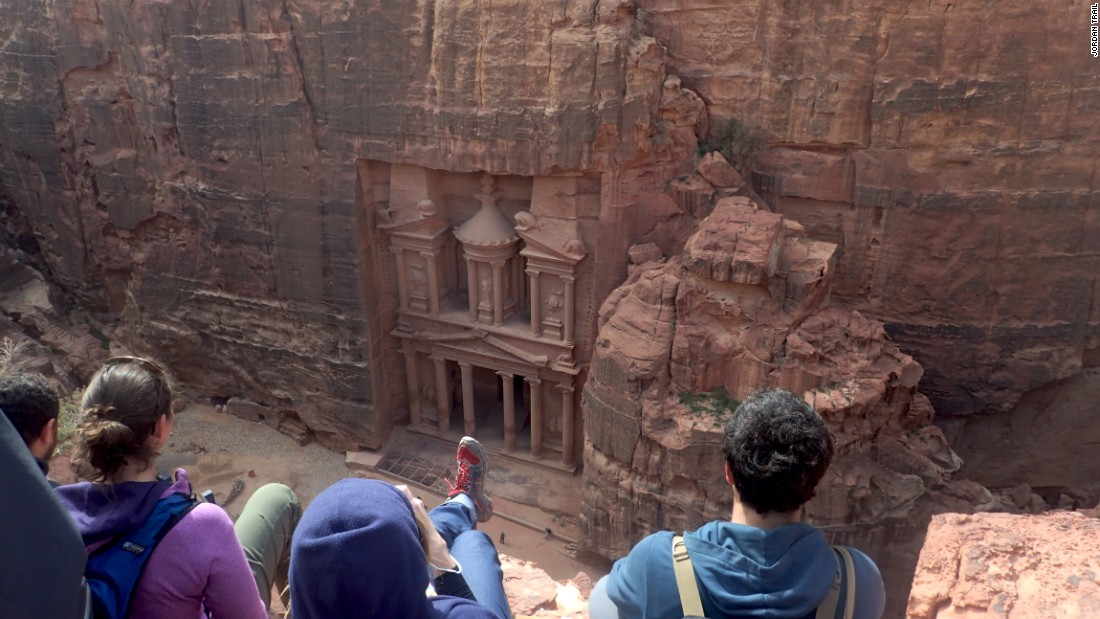 <strong>Ancient landmarks: </strong>Historic Petra, known as the Rose City, is famous for its rock-hewn buildings. The Treasury is one of the most elaborate edifices in the city.