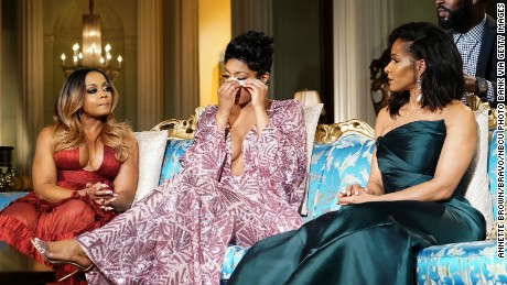 "Phaedra Parks, Porsha Williams and Sheree Whitfield appear on the ""Real Housewives of Atlanta"" reunion."