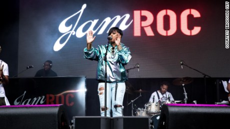 Rapsody performs at the Broccoli City music festival.