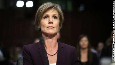 Yates contradicts Spicer on Michael Flynn