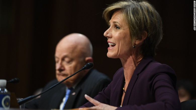 Yates: Flynn could be compromised by Russia