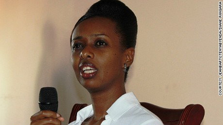 Diane Rwigara was Rwanda's only female presidential candidate until she was disqualified.