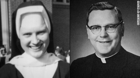 Sister Catherine Ann Cesnik and the Rev. A. Joseph Maskell