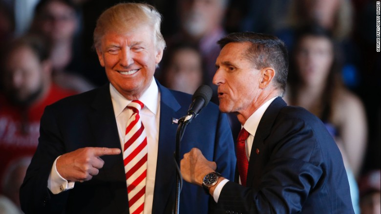 Pres. Trump's team knew of Flynn's inquiry before he assumed office