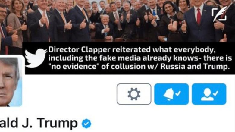 170509065923 trump twitter header exlarge 169 trump made one of his own tweets into a twitter header cnnpolitics,Trump Twitter Meme Generator